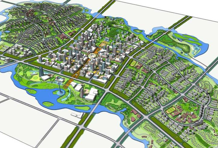 [辽宁]沈阳蒲河生态智慧城概念规划设计方案文本