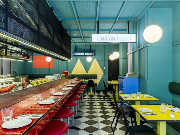 西班牙LasChicas和LosChicosyLosManiquís餐厅