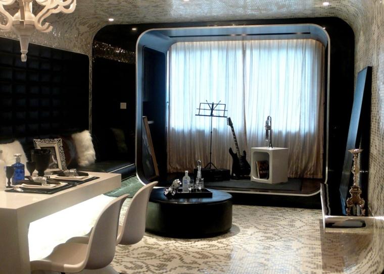 重庆复地上城一居室样板间室内设计方案