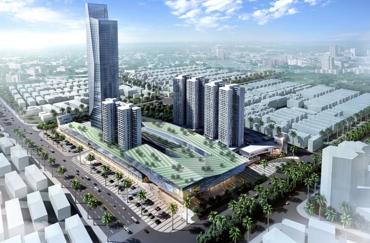 [陕西]长安万科中心超高层商业综合体设计方案文本(PDF)