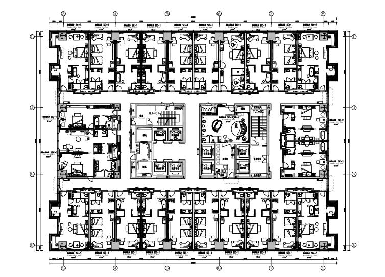 [江苏]杨邦胜-昆山金鹰尚美酒店室内装修设计全套施工图+官方摄影+物料