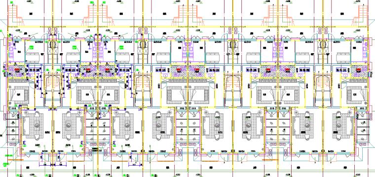 34地上建筑平面分布图