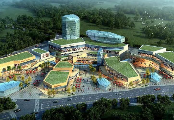 [湖北]武汉金银湖大厦商业综合体概念方案设计文本
