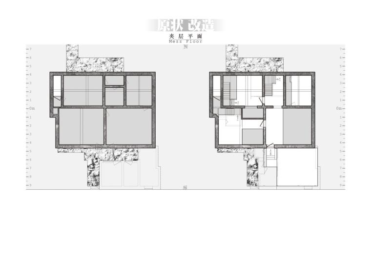 北京北海百年糖房改造-208-二层平面_plan_level_2