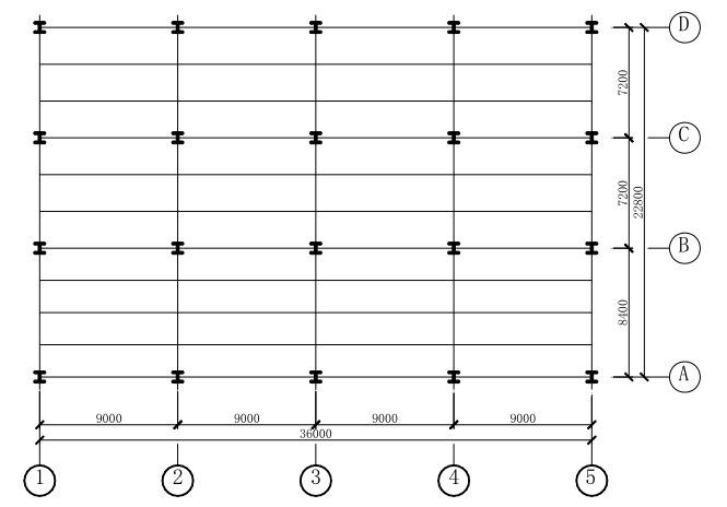钢结构课程设计实例