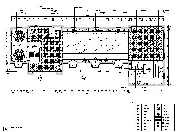 [新疆]欧式民族混搭风格餐饮空间设计施工图(附效果图)_5