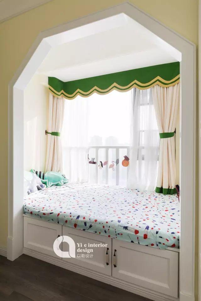 拥有绝美榻榻米卧室、治愈系厨房,可能是最清新的美式风!_32