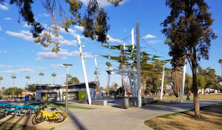 增加社区互动和建立先锋公园