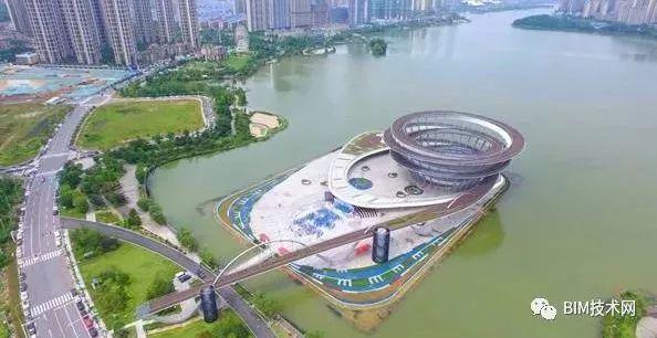 BIM助力攻关全球最大双螺旋钢结构——梅溪湖城市岛