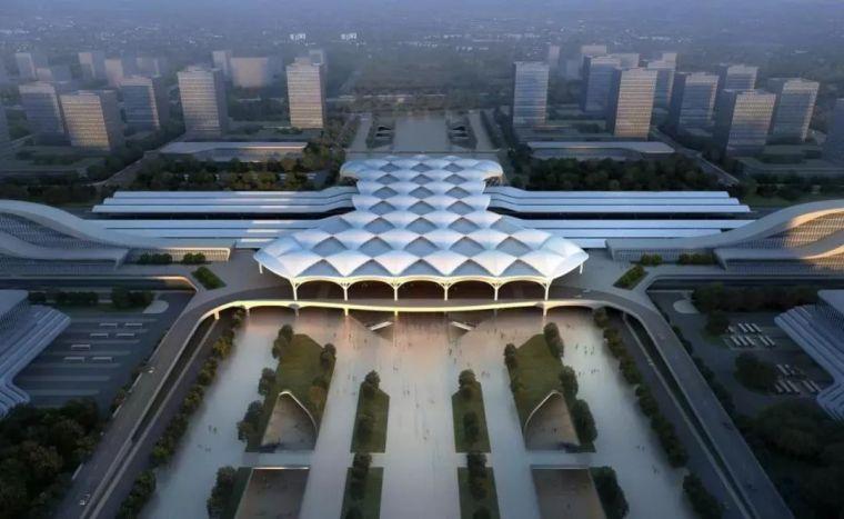 结构单元体与空间塑造,从国内几个高铁站的设计说起_13
