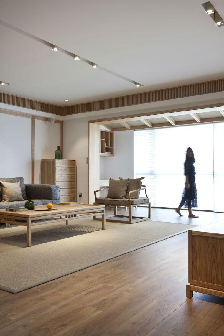 简单自然的中式风格住宅室内实景图 (23)