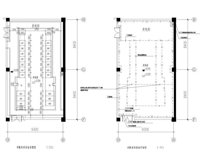 [上海]同济大学学院大楼电气施工图