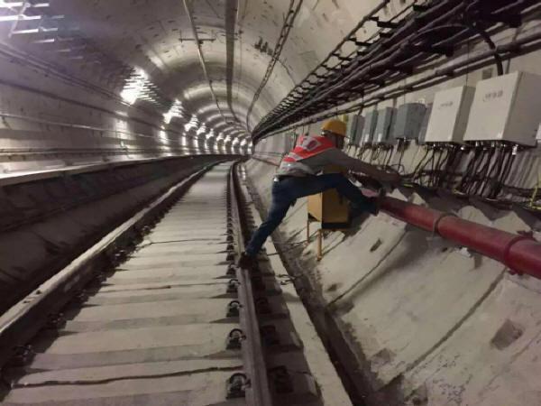 地铁施工测量方法取决于施工方法