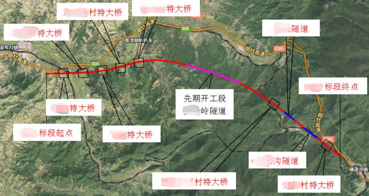 严寒低山丘陵区时速250km动车组铁路工程投标施工组织设计568页(路桥隧涵)_2
