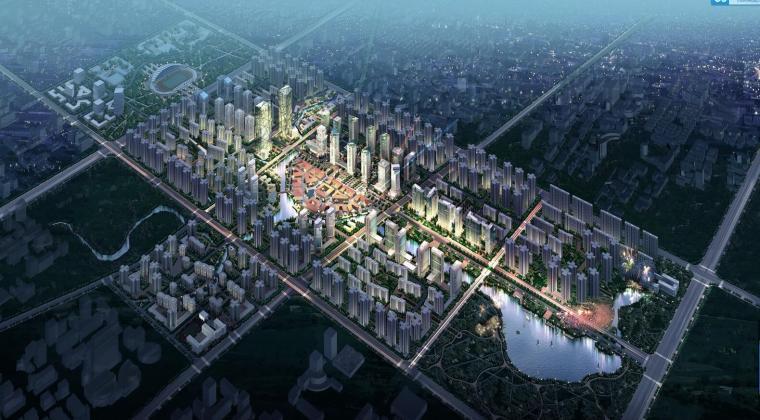 [重庆]重大学城中央商务区策划及城市设计