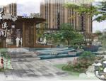 [江苏]新中式古典情韵高端私家宅邸景观设计方案