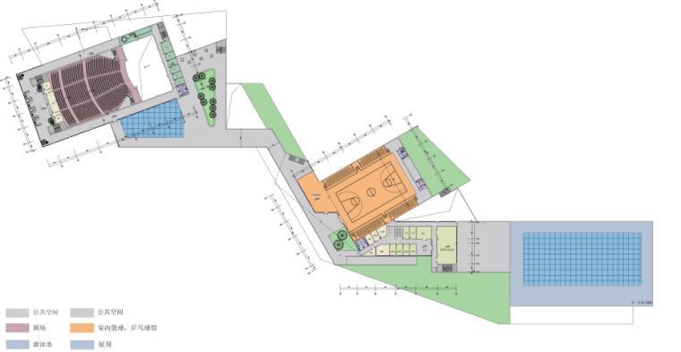 [湖南]西南设计院多功能文化艺术中心建筑设计方案文本_8