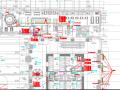 给排水设计多张平面图(PDF版图纸)