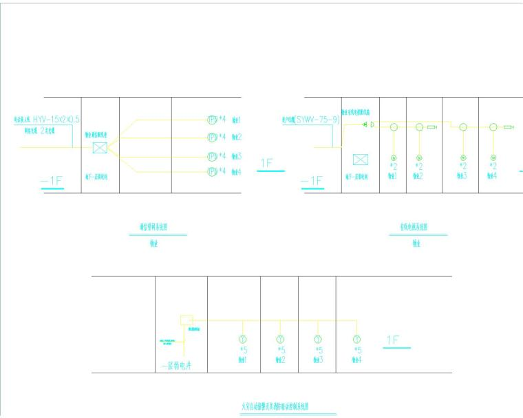 海湖新区电力住宅小区电气设计图纸大全(含住宅部分与商铺部分)_6
