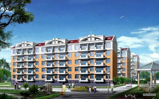湖南七层框架住宅楼含地下车库计量计价实例(含招标文件、CAD图