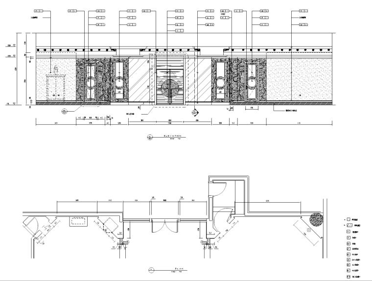 某商贸饭店深化设计施工图(含效果图)