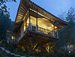 与自然共生,与竹同居——竹别墅
