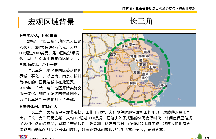 青沙岛生态旅游度假区概念性规划