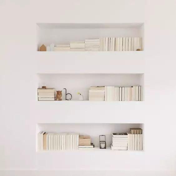 墙面收纳方式多,别再让大白墙裸奔了,好吗?