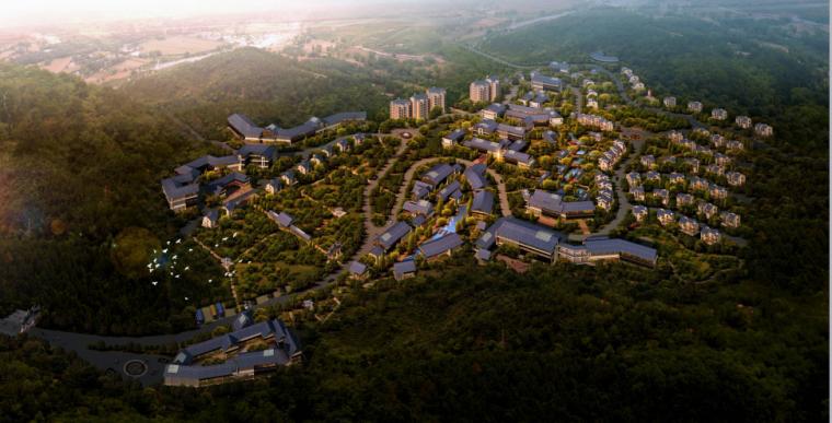 云南省武定茗泉山谷温泉资源区总体概念性规划