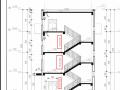 剖面图中楼梯竖向标注的添加