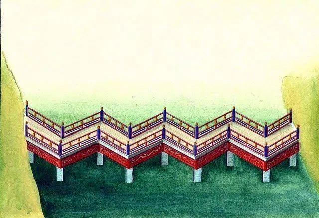 另一个视角:外国人画笔下的中式古典建筑_13