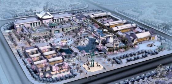 [安徽]市政务文化新区景观规划设计方案