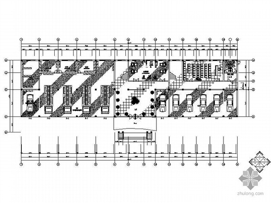 消防中队兵站大楼装饰设计方案图