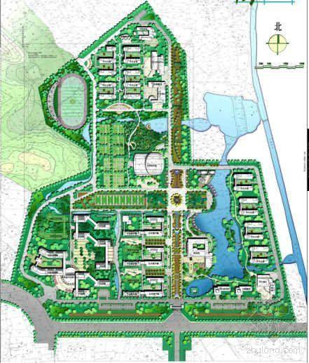南京学校新校区景观规划设计