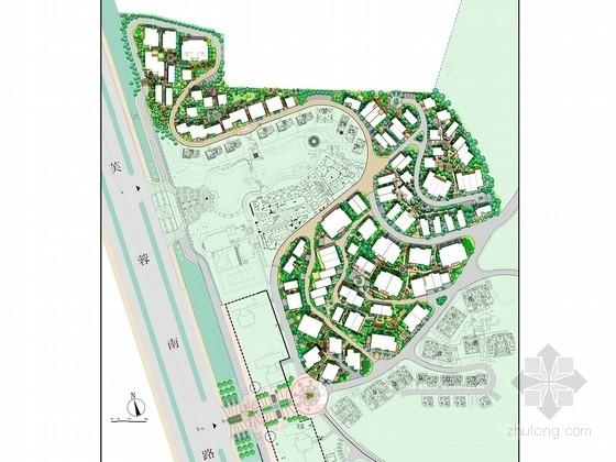 [长沙]西班牙风情别墅区景观设计方案