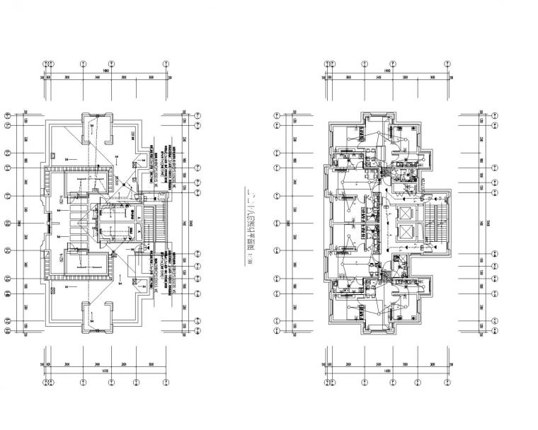 [黑龙江]一类高层住宅楼电气施工图(大院最新)
