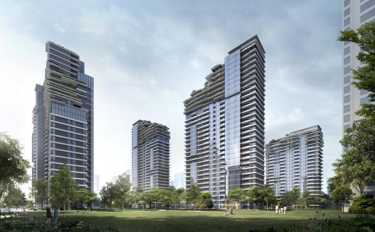 上海中信泰富集团大楼居民区的改造-1