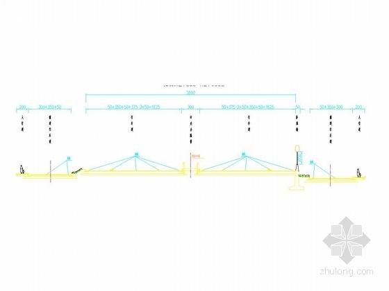 [江苏]互通式立交工程交通工程施工图设计44张