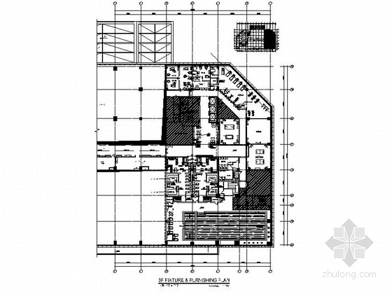[广州]知名连锁五星级酒店游泳池及康体中心装修施工图(含实景)
