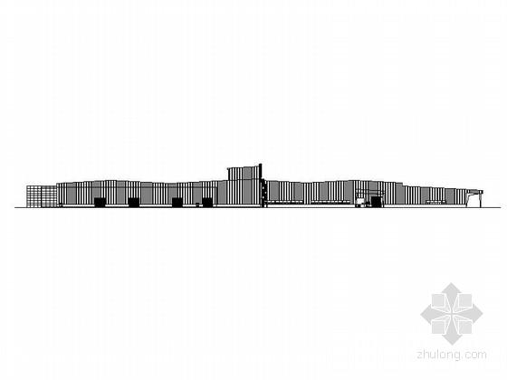 [湖北]中国著名汽车厂区项目建筑施工图(2014年图纸)