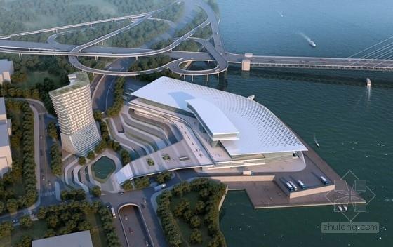[重庆]18层大型会展综合体建筑设计方案文本