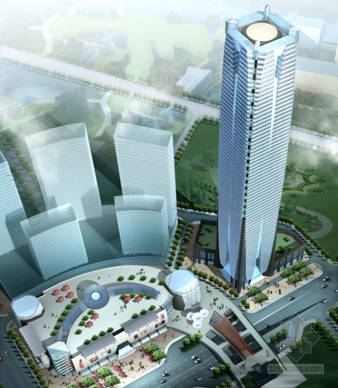 [广西]现代风格多层商业建筑设计方案文本