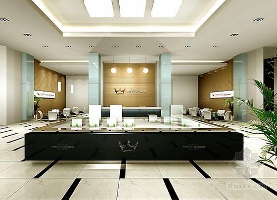 [北京]售楼中心室内精装修及水电安装工程清单报价书(附全套图纸及效果图)