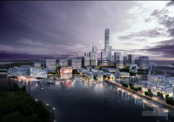 [江苏]现代风格生态科技城规划设计方案文本