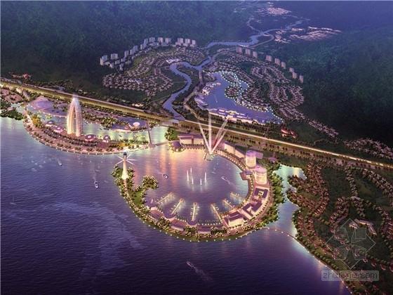 [海南]沿海大型现代风格旅游项目规划方案文本(含多个地块设计)