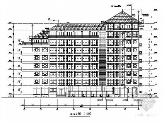 七层坡方案我爱v方案小学建筑设计大楼图版面一年级屋顶英语手抄报机关六合无绝对图片