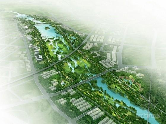 """[西安]""""四境""""立体风景公园景观设计方案"""