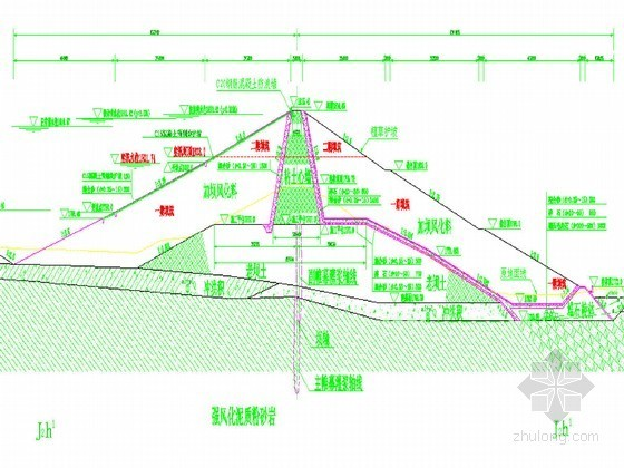 小(1)型水库初设施工组织设计节点详图