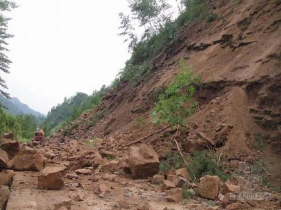 [云南]山区泥石流地质灾害整治工程施工组织设计