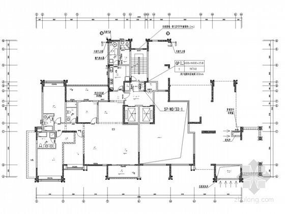 [四川]高层住宅小区空调通风及防排烟系统设计施工图(大院设计)